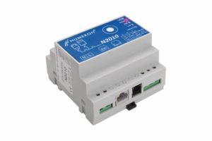 N2010 to konwerter serial-Ethernet z buforowaniem danych odczytanych z liczników energii, ciepła, gazu.  Jest funkcjonalnym rozszerzeniem urządzenia N2000. Może być stosowany wszędzie tam, gdzie wymagana jest konwersja transmisji szeregowej na transmisję po sieci komputerowej w standardzie Ethernet/TCP. Może również samodzielnie, z zadanym harmonogramem, odczytywać podłączone do niego urządzenia pomiarowe i składować dane na wewnętrznym dysku Flash. Dane te może następnie wysłać pocztą elektroniczną lub umieścić na wskazanym serwerze ftp. Jego nowoczesna konstrukcja i rozwiązania technologiczne stanowią o jego uniwersalnym zastosowaniu. Więcej...