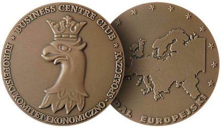 business centre club medal europejski