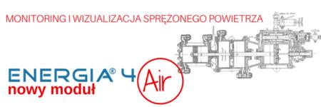 Optymalizacja produkcji i dystrybucji sprężonego powietrza – ENERGIA4