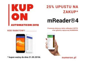 Automaticon 2018 kupon rabatowy