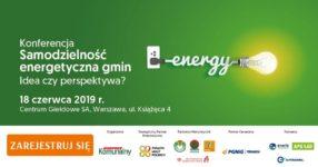 """Konferencja """"Samodzielność Energetyczna Gmin"""""""
